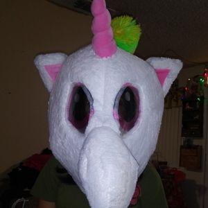 NWOT- Unicorn Giant Top Head OS